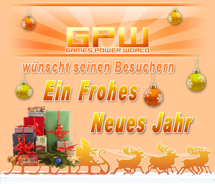 Games-Power-World w�nscht Frohes Neues Jahr 2016